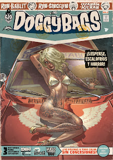 "Cómic: Reseña de ""Doggy Bags"" vol. #2 [Dibbuks]."