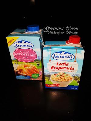 Central lechera asturiana leche evaporado y nata especial reposteria Caja Degustabox de Noviembre ´16