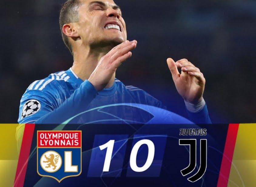 Lione-Juventus, risultato deciso da Tousart: sconfitta amara per Cristiano Ronaldo & C.