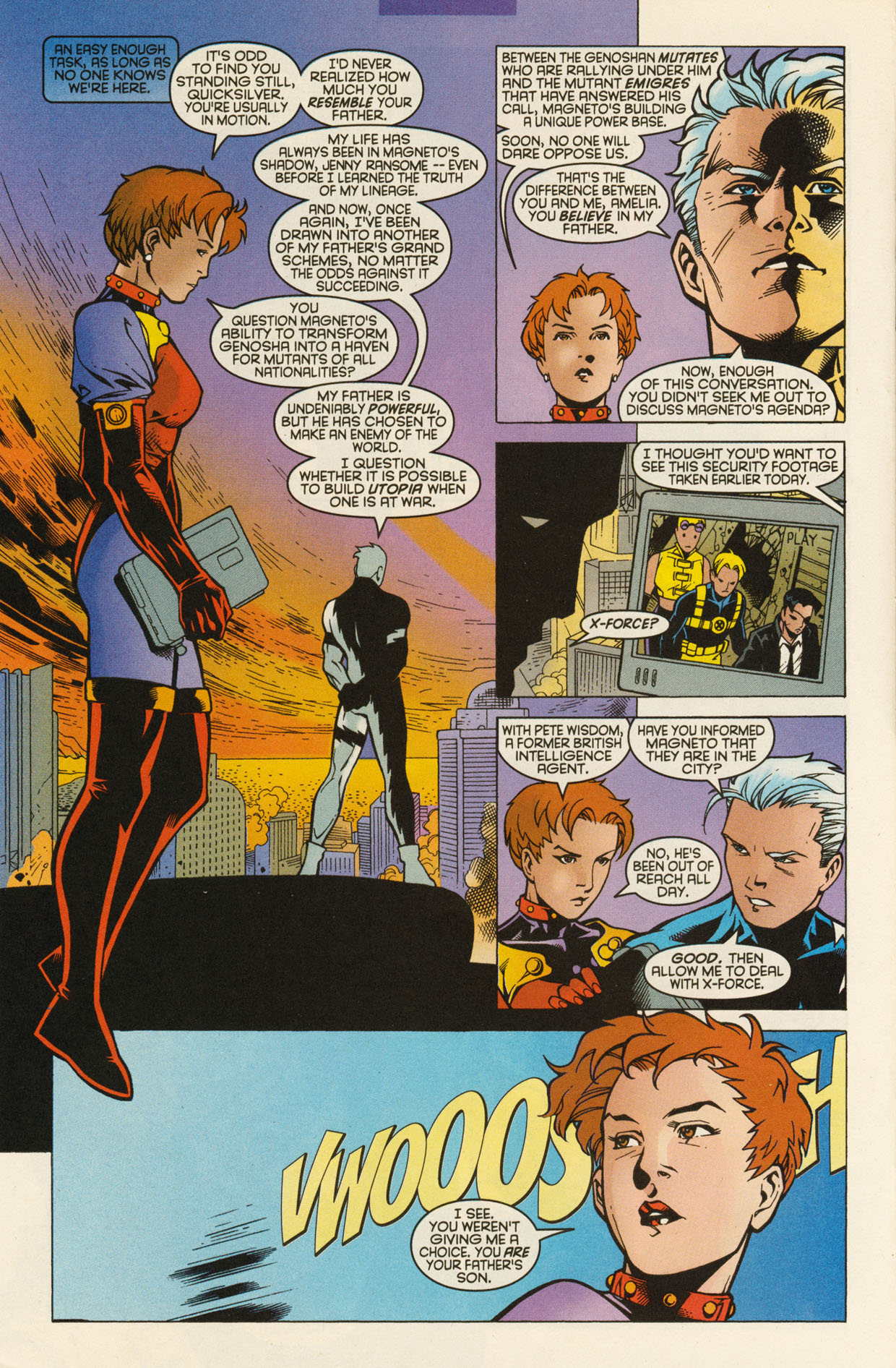 Read online X-Force (1991) comic -  Issue #94 - 26