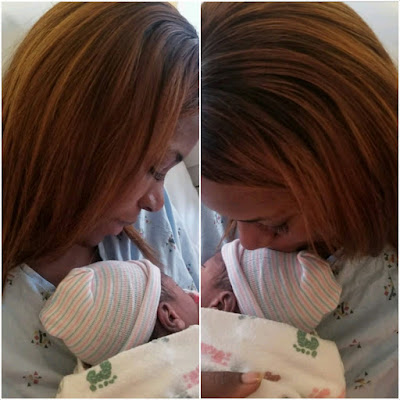 Linda Ikeji gives birth to baby boy The new mom took to her Instagram page to announce the good news moments ago with a photo of her on a hospital bed clutching in her arms, her new baby, Baby J. The much expected birth of the popular blogger's baby, will send excitement across the social media as even at pregnancy, the baby seemed to be so much popular - no thanks to her mum's constant gush over him and promises of how he is going to enjoy his best in life. Linda Ikeji held her bridal showers some few days ago in Atlanta, United States and the event was graced by friends and families including top Nigerian celebrities including Psquare Peter Okoye, Donflexx, Linda's sisters Vera, Laura and her hubby, Ogonna Kanu, Linda's mum, dad and other friends of the family