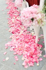 The Confetti Blog Decorating With Rose Petals Ideas And