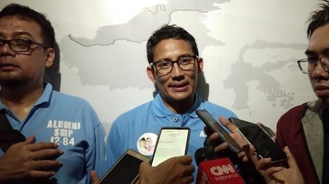 Video Viral Panggil 'You' ke Kiai, Sandiaga: Prabowo Memulaikan Para Ulama