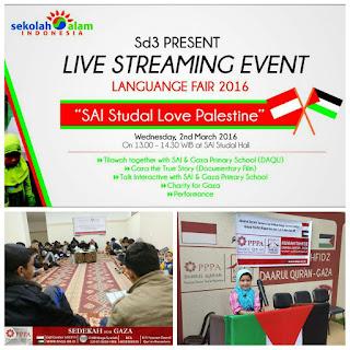 Live Streaming dengan Kecil-kecil jadi Hafidz Alqur'an di Gaza Palestina.