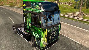 Monster Energy skin for Mercedes MP4