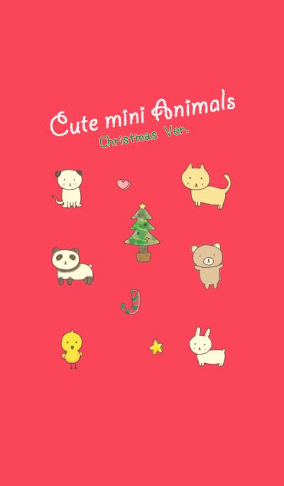 Cute mini Animals Christmas Ver.