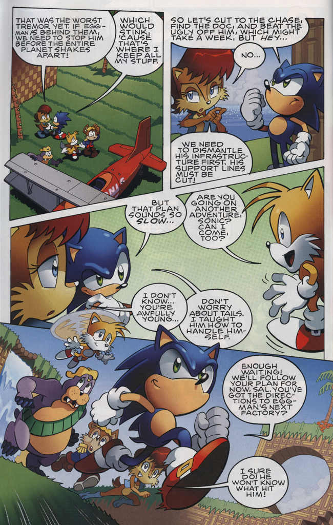Read online Sonic The Hedgehog comic -  Issue #228 - 6