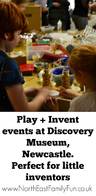 Discovery Museum Newcastle | Play + Invent Events | A Review