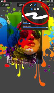 Cara Edit Foto Splash Color