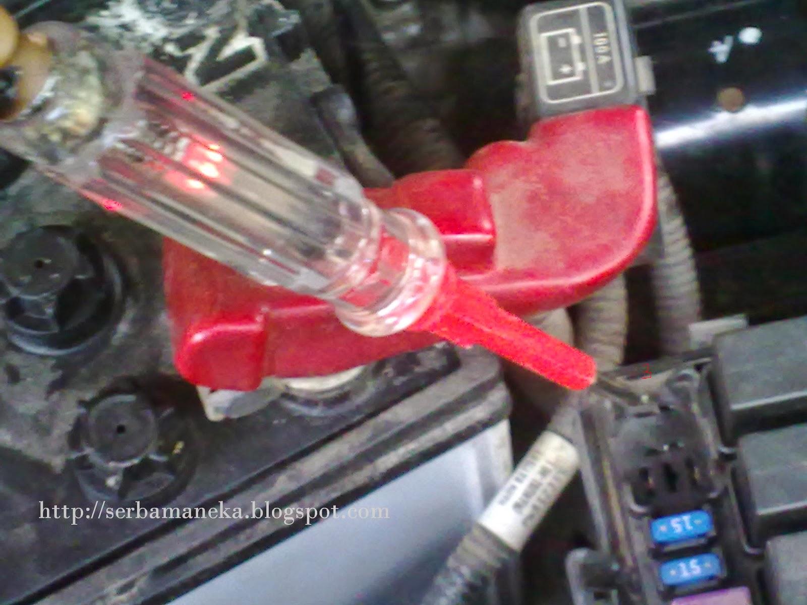 D I Y  SERBAMANEKA: Testing Fuel Pump Relay Proton Saga BLM Cara Koman