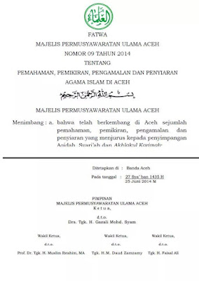 SUNNI Indonesia Malaysia Brunei tolak ajaran wahabi setan najd