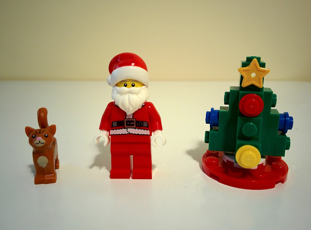 LEGO set 40125 visita di Babbo Natale - Santa's visit