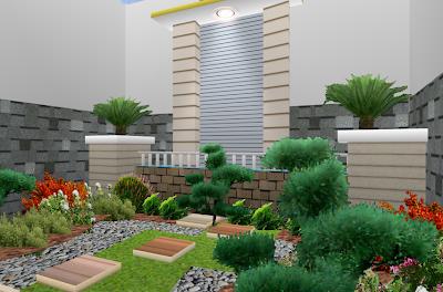 Biaya Renovasi Rumah - Contoh Renovasi Taman Minimalis