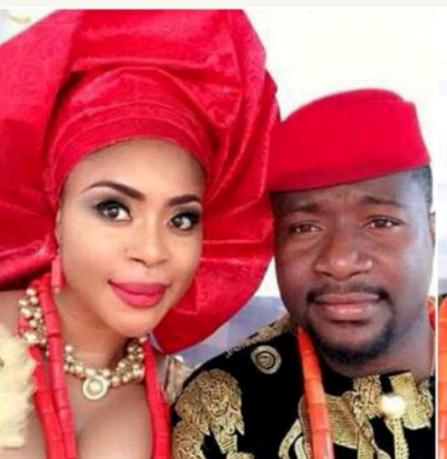 Actress Mimi Orjiekwe And Her Husband