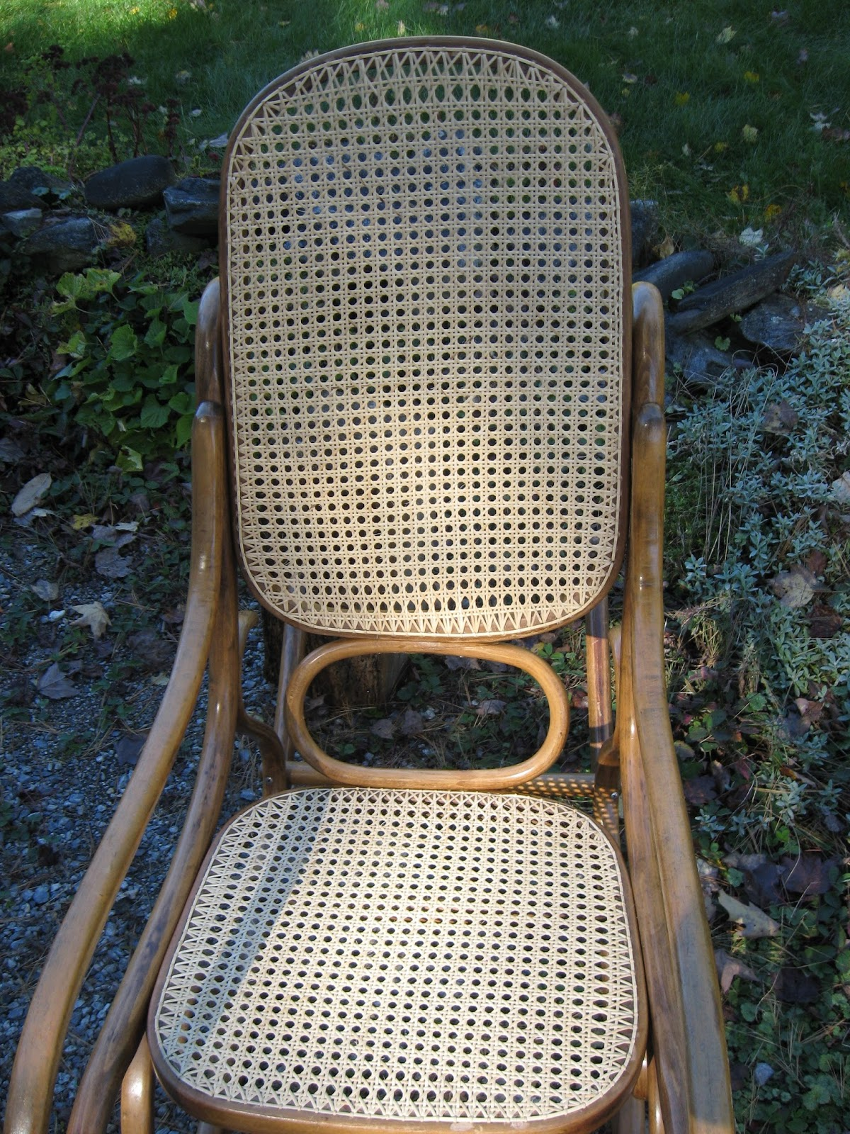 how to replace cane back chair with fabric diy rocking maine antique repair