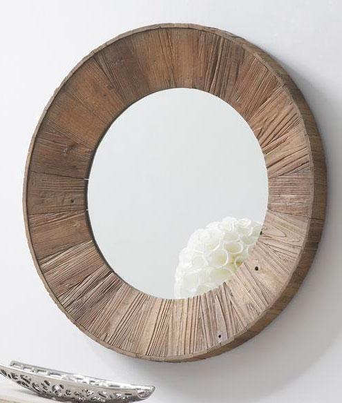 La web de la decoracion y el mueble en la red espejos for Espejos de madera redondos