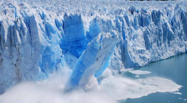 فيديو لانهيار جليدي بغرينلاند بحجم مدينة منهاتن الأمريكية