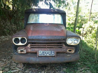BURSA MOBIL TUA BANDUNG : Forsale Chevrolet Apache Pickup - 1959