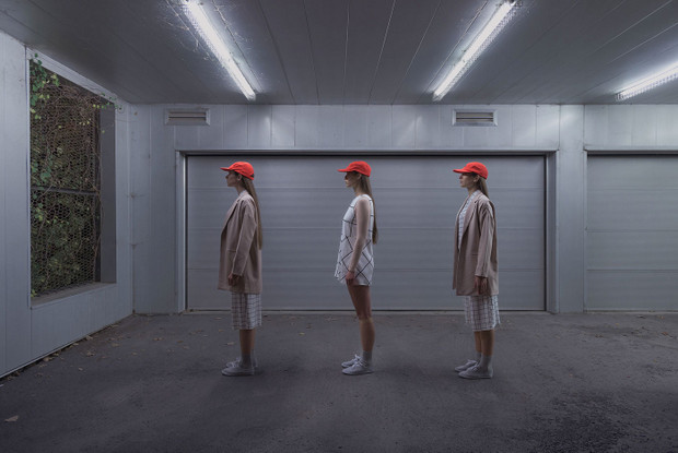 Francois Ollivier (Photography) & Mariane Vaillancourt (Art Direction) | Bright Night and Orange Gloom