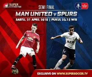 Streaming MU vs Spurs (Piala FA)