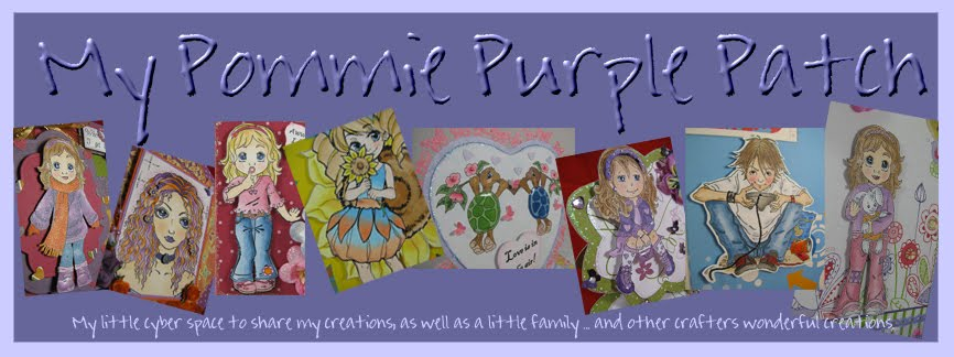 My Pommie Purple Patch