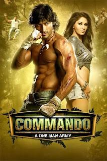 Commando (2013) 480p DVDRip (Hindi) – 400MB