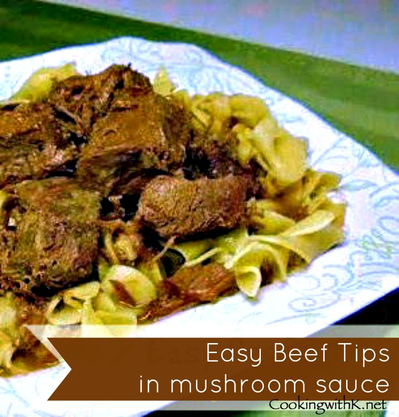How to make beef tips in the oven