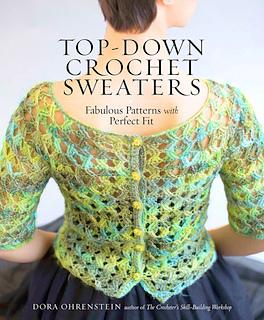Long sleeve sweater top Crochet pattern