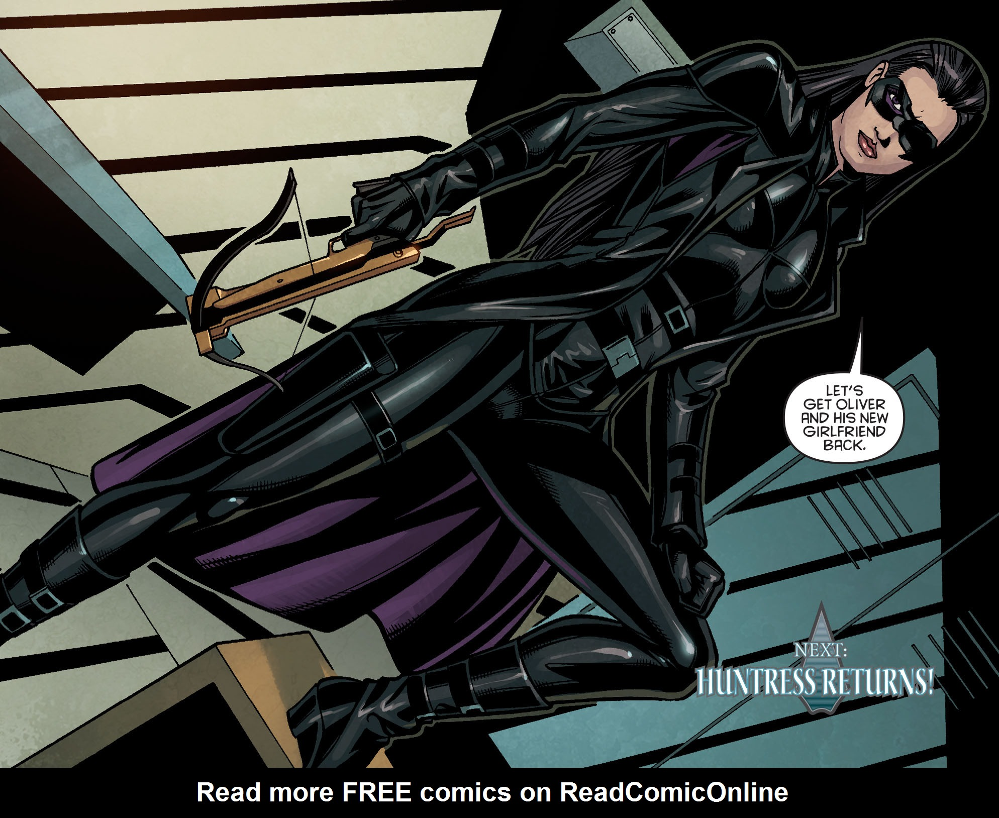 Read online Arrow: Season 2.5 [I] comic -  Issue #14 - 20