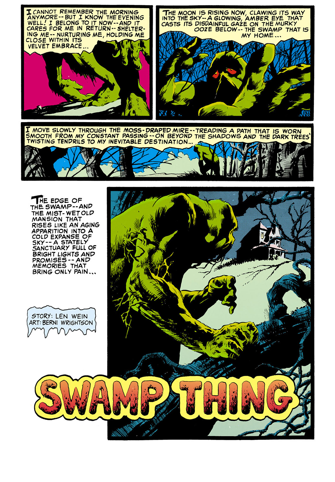Swamp Thing (1982) Issue #33 #41 - English 8