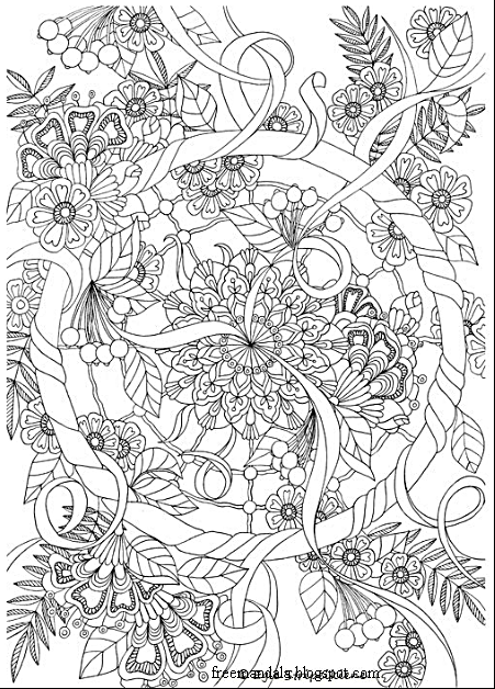 Yoga And Meditation Coloring Book For Adults With Poses Mandalas Free Download Pdf