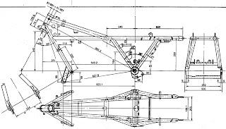 Renax Motorbike corner: Seat for Guzzi (short Tonti frame