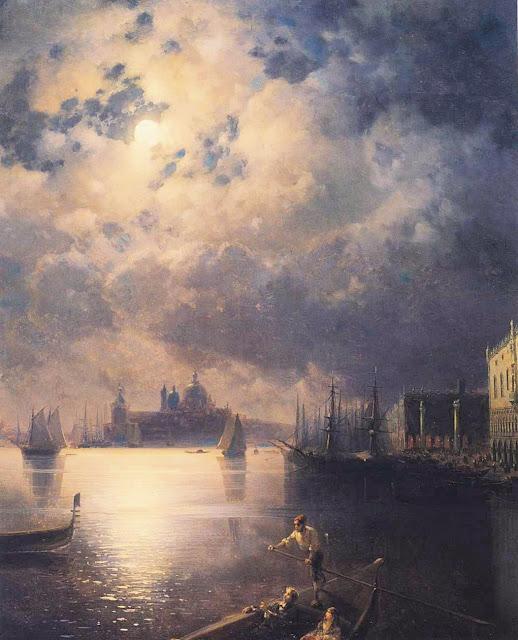 http://en.wikipedia.org/wiki/Ivan_Aivazovsky#/media/File:Ivan_Constantinovich_Aivazovsky_-_Byron_in_Venice.JPG