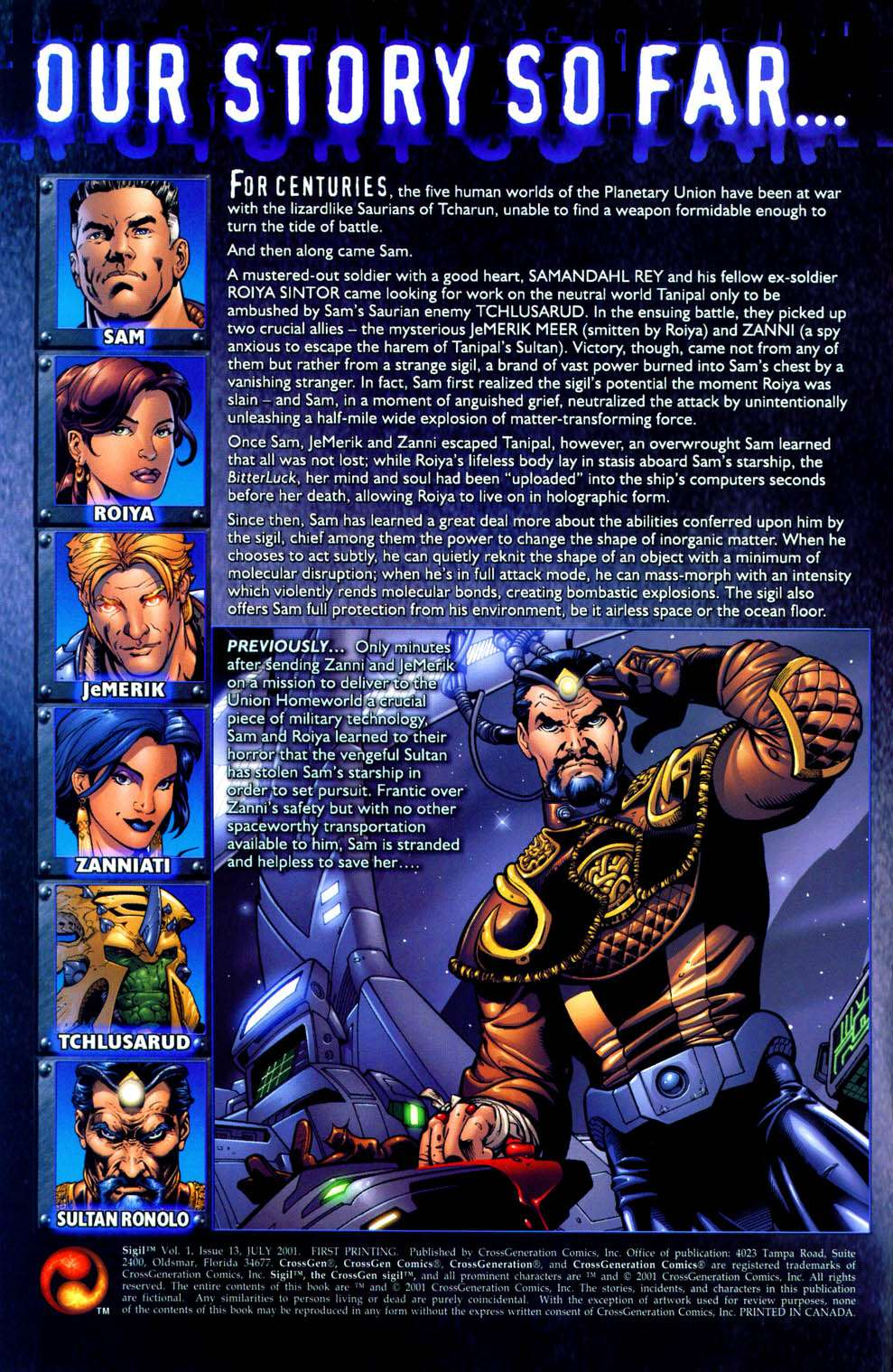Read online Sigil (2000) comic -  Issue #13 - 2