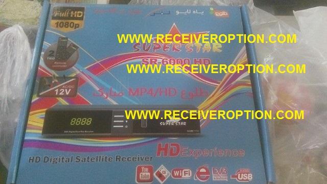 SUPER STAR SR-6000 HD RECEIVER CCCAM OPTION