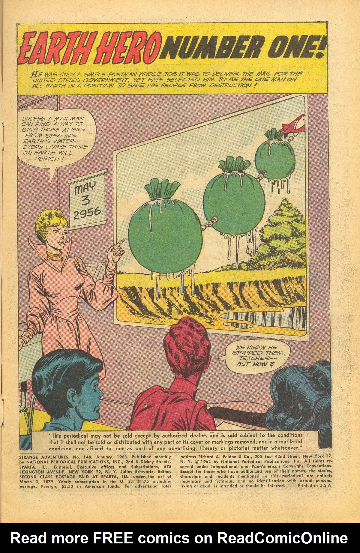 Strange Adventures (1950) issue 148 - Page 3