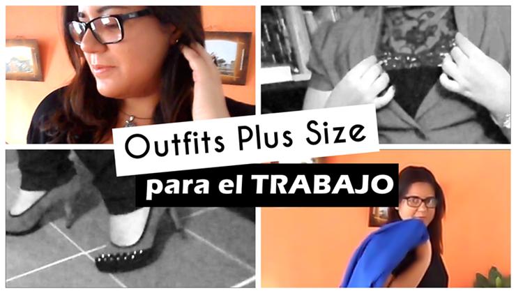 outfits plus size para trabajar