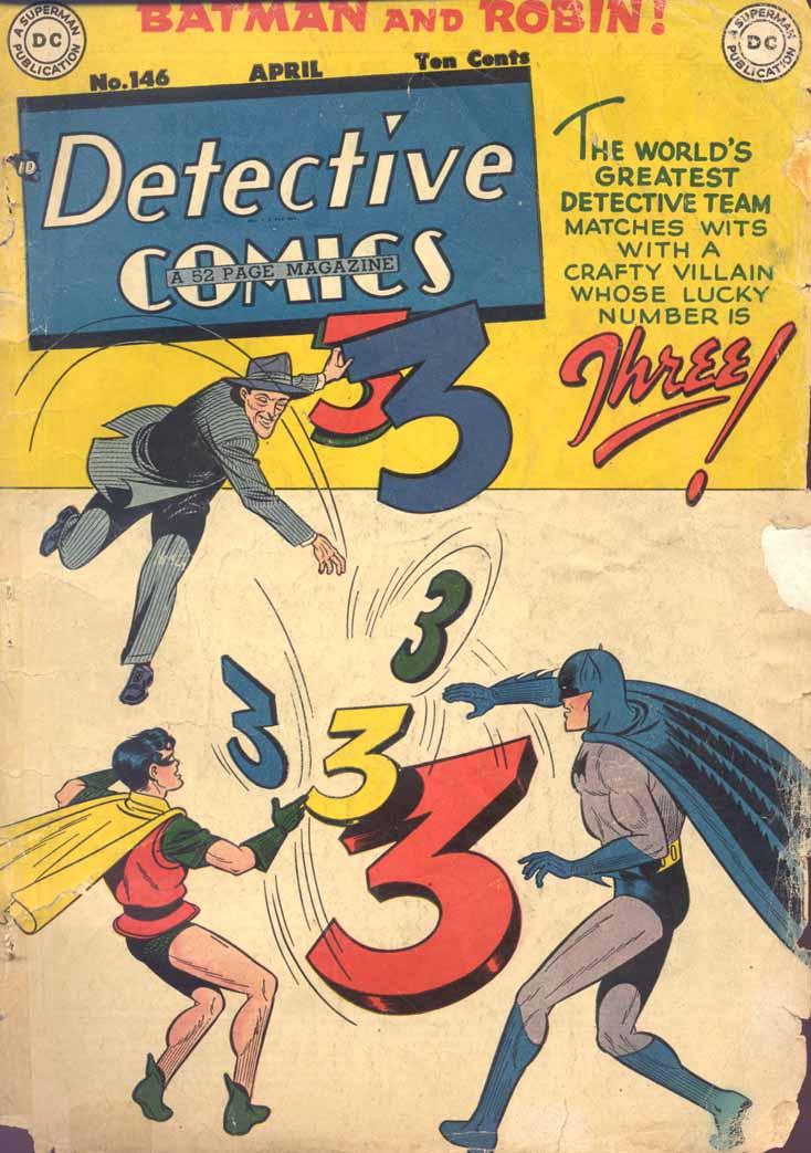 Detective Comics (1937) 146 Page 0