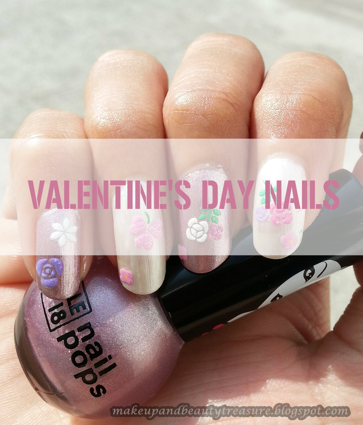 Makeup And Beauty Treasure My Valentine S Day Nails