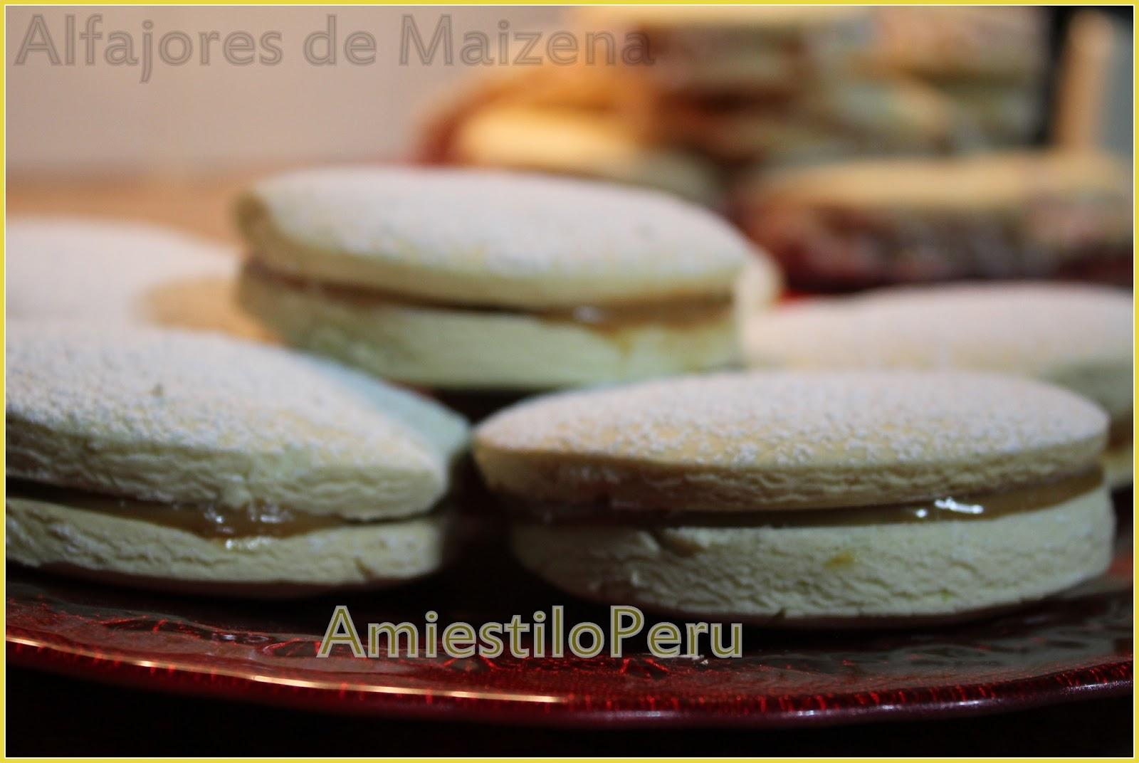 Amiestiloperu Alfajores De Maizena