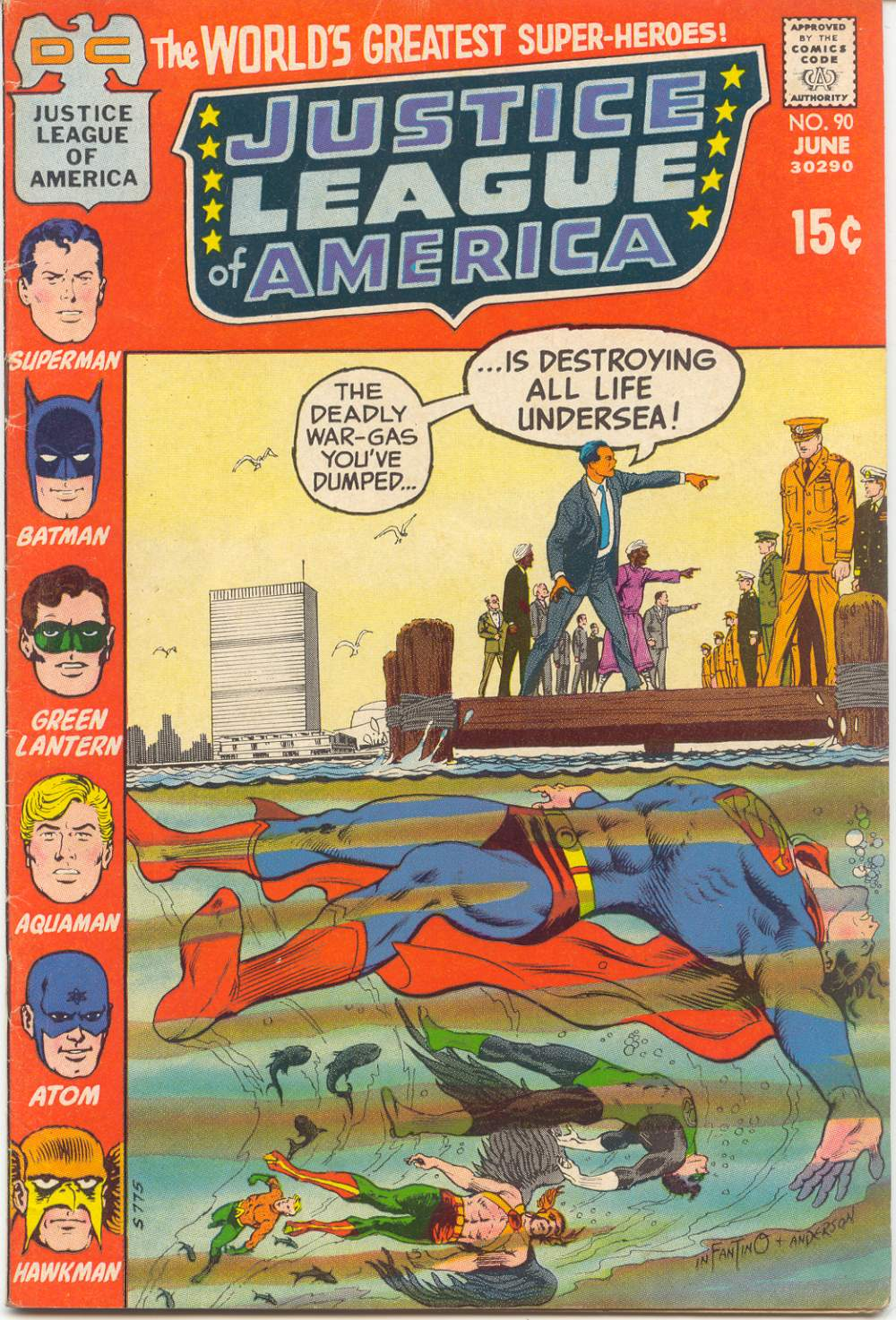 Justice League of America (1960) 90 Page 1