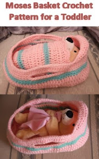 Crochet Moses Basket