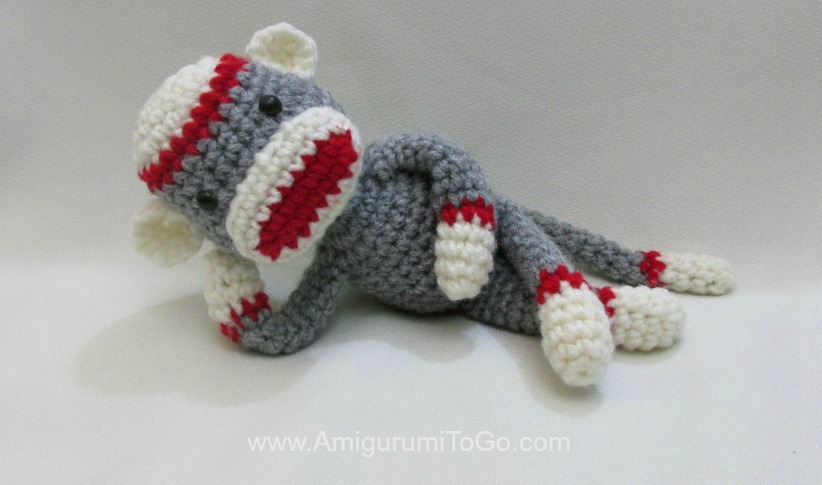 Crochet Along Amigurumi Sock Monkey ~ Amigurumi To Go