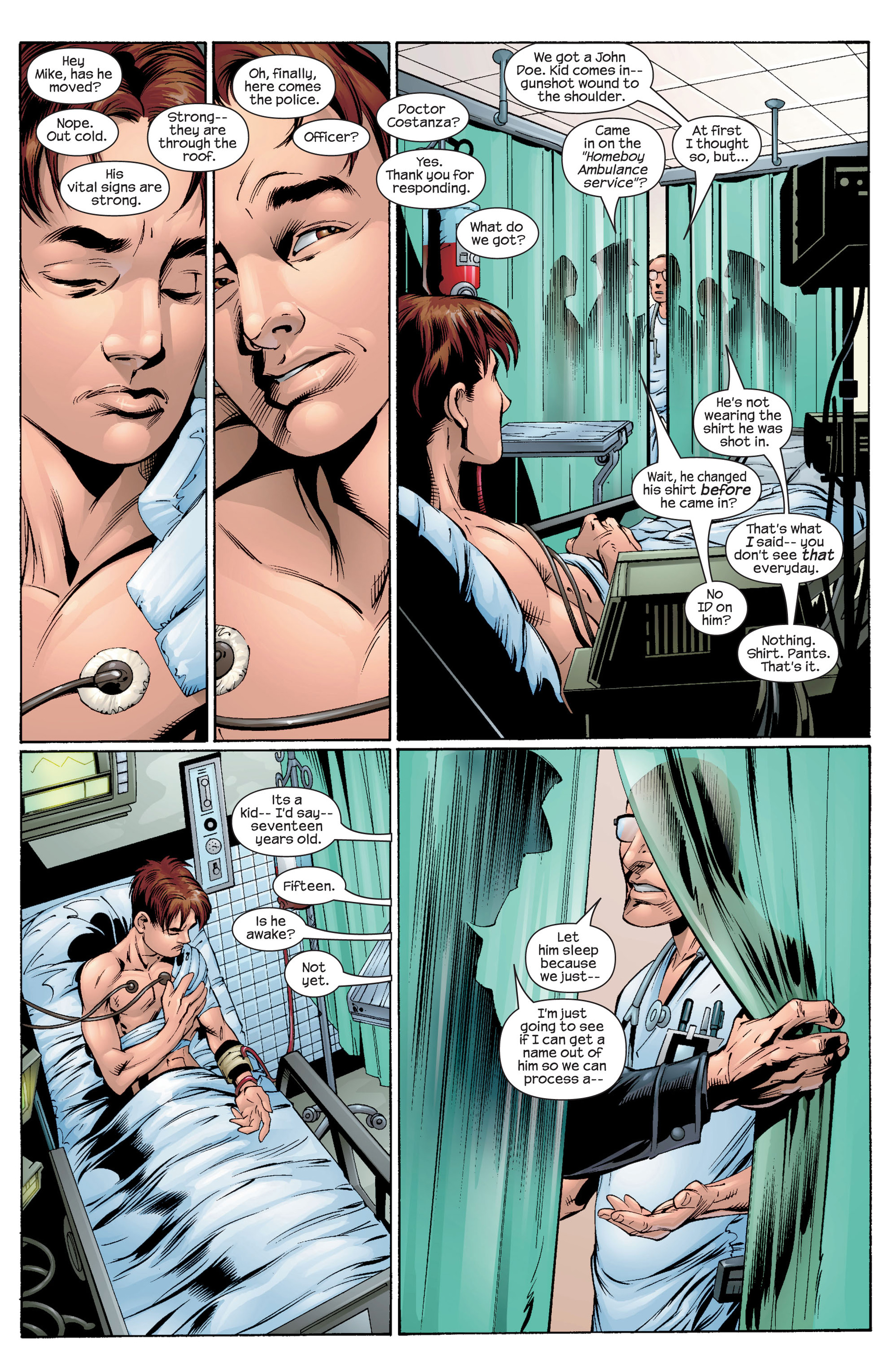 Read online Ultimate Spider-Man (2000) comic -  Issue #30 - 15