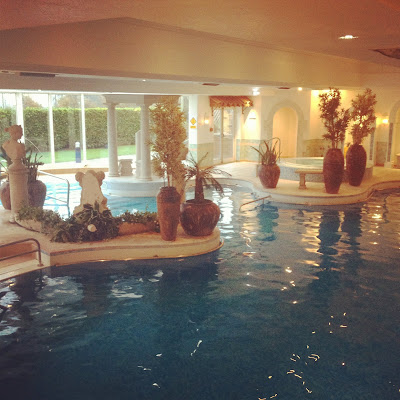 Swimming pool  at Menzies Derby Mickleover Court Hotel