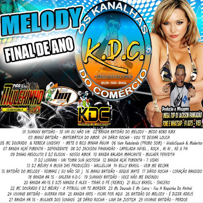 CD MELODY KDC FINAL DE ANO 2016