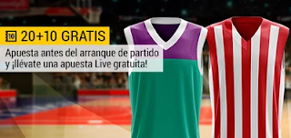 bwin promocion Euroliga Unicaja vs Olympiacos 30 marzo