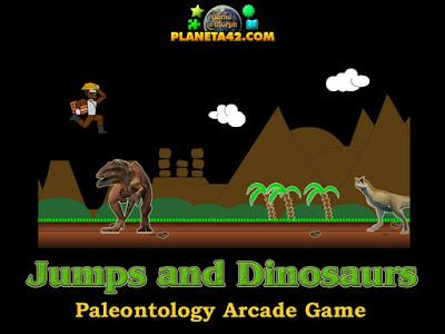 Скок и Динозаври онлайн игра