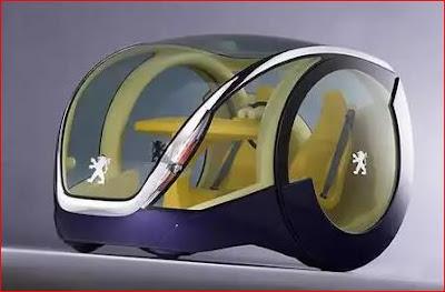 Mobil Peugeot Moovie - Mobil Aneh