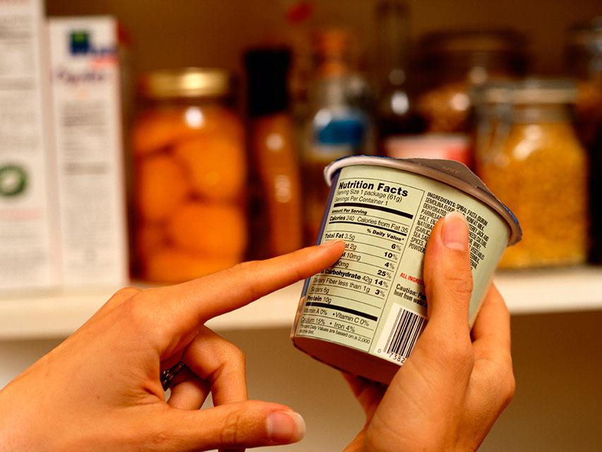 Informações nutricionais. Foto: Reprodução